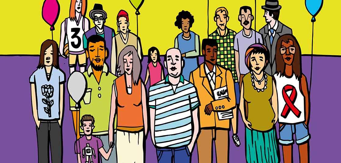 Poster Activités pour les personnes vivant avec le VIH